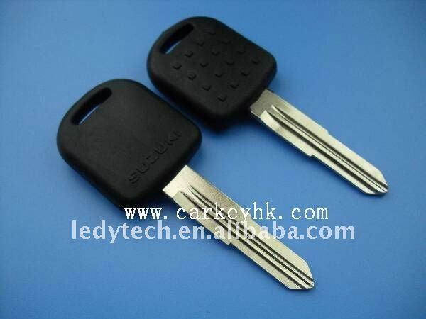 High quality Suzuki transponder auto key with left blade 4D65 chip