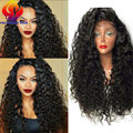 Synthetic Lace Front Wigs For Black Women Cheapest Long Lace Wigs Synthetic Hair Curly Lace Front Synthetic Wigs With Baby Hair