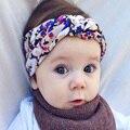 Giro Turbante Elasticidad Diademas para Las Mujeres Cabeza de La Flor de La Venda Headwear Hairbands Bebés los Accesorios Del Pelo Del Tocado