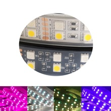 5050 Double Row RGB LED Ligh Strip Waterproof Different WS2812B LED Light Flexible Tape For Home Decoration And Christmas Party
