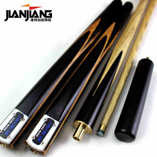 Brand Billiard pool Cue, Cue tip 9.5-9.8mm, 145cm, Ash wood, Handmade 3/4 Snooker stick, High Quality, Free shipping JJ01 pool billiard cue cherry brown wood 11 75mm
