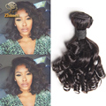 7a Grade Aunty Fumi Hair Peruvian Fumi Hair Romance Curls 5 Bundles Cheap Aunty Fumi Human Hair Extensions Natural Black