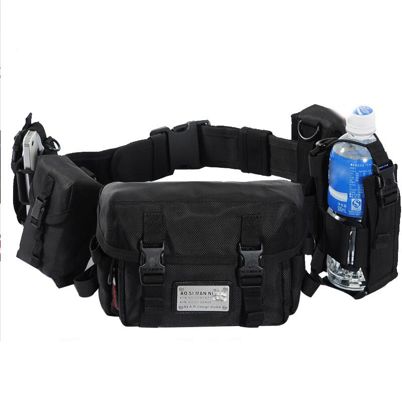 Outdoor Tactical Waist Pack Special Duty Weapons Tactics Sport Ride Motorcycle Waterproof Drop Utility Waist Pouch