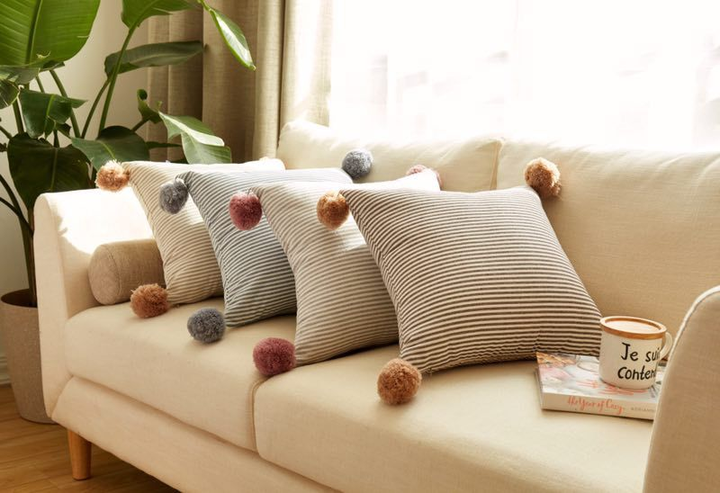 Astonishing Us 20 03 33 Off New Arrival Nordic Cotton Sofa Bed Car Office Cushion Home Decor Stuffed Baby Kids Nap Pillow For Home Store Deco Photo Prop In Evergreenethics Interior Chair Design Evergreenethicsorg