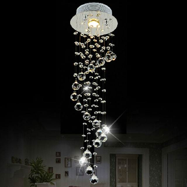 Led crystal chandelier aisle corridor lights entrance door led crystal chandelier aisle corridor lights entrance door entrance hall bar balcony small chandelier for bedroom mozeypictures Images