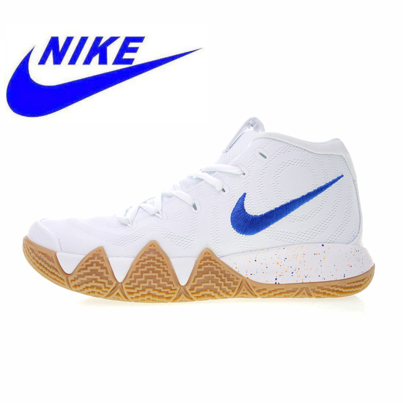 online retailer e0bb5 3f114 US $140.25 49% OFF|Original Nike Kyrie 2 Men's Basketball Shoes, White, New  Sports Shoes Breathable Shock Absorbing Lightweight Non slip 943807 100-in  ...