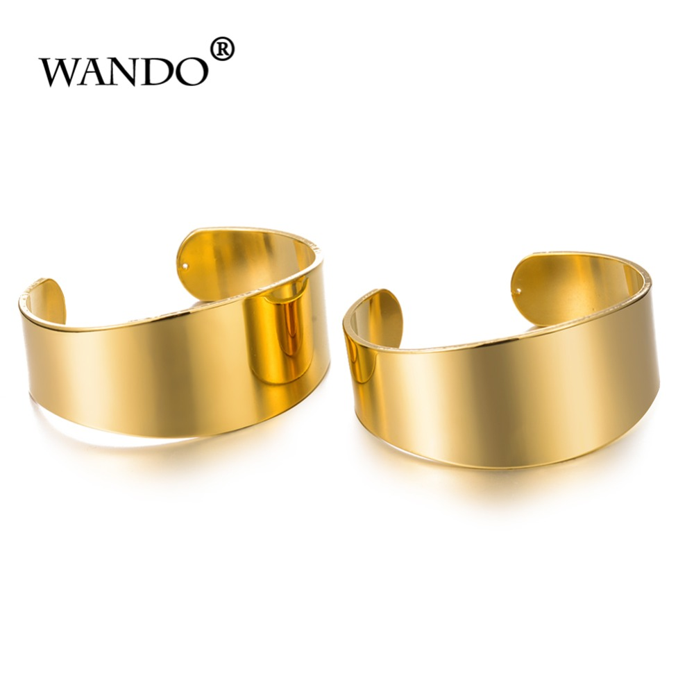 WANDO 2pcs/lot Metal Glossy...