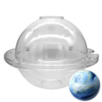 Hot Selling Polycarbonate Chocolate Ball Mold 3D Ball Cake Mold Kitchen DIY Tool