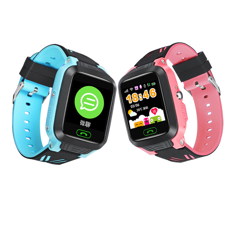 Smart Children\`s Watches GPS IOS Android SOS Relogio Inteligente Girl Fitness Bracelet Baby Kids Connect Educational Smartwatch (4)