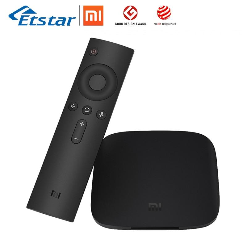 Глобальный Сяо mi ТВ коробка 3 Android Smart ТВ коробка 4 ядра 4 К 8 г HDR WI-FI Bluetooth IP ТВ Youtube Netflix фильм телеприставки