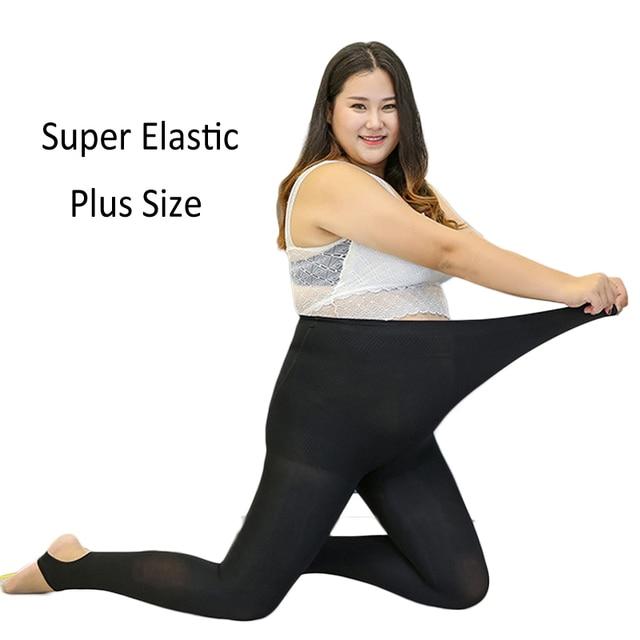 9521b641dbdcac Plus Size Women Pantyhose Winter Warm Thermal Fleece Stretchy 1200D Stirrup  Soft Comfortable Pants Black/