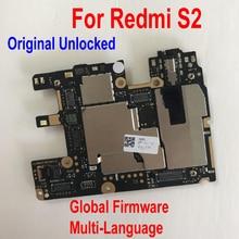 Oryginalna wielojęzyczna płyta główna odblokowująca dla Xiaomi Hongmi S2 Redmi S2 oprogramowanie sprzętowe na cały świat płyta główna opłata za przewód elastyczny