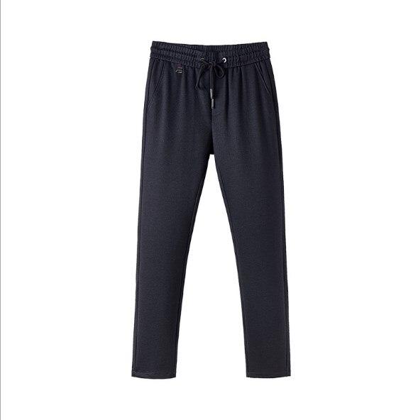 Осенние мужские повседневные Прямые брюки корейский модный тренд тонкие брюки мужские штаны GDA