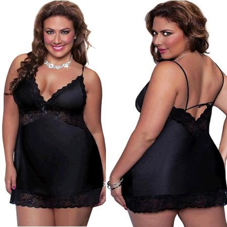 plus size xl4xl women sexy lingerie mesh women's half