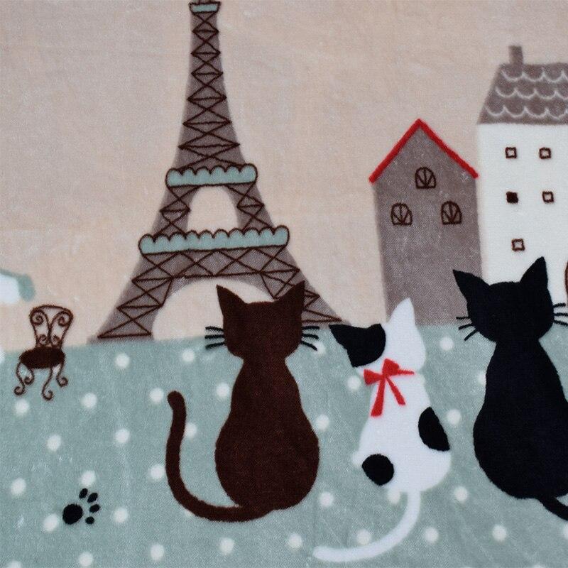 Tapis enfants tapis chambre d'enfants tapis de sol antidérapant dessin animé chat chambre tapis salon tapis rampant 130x185 CM - 5