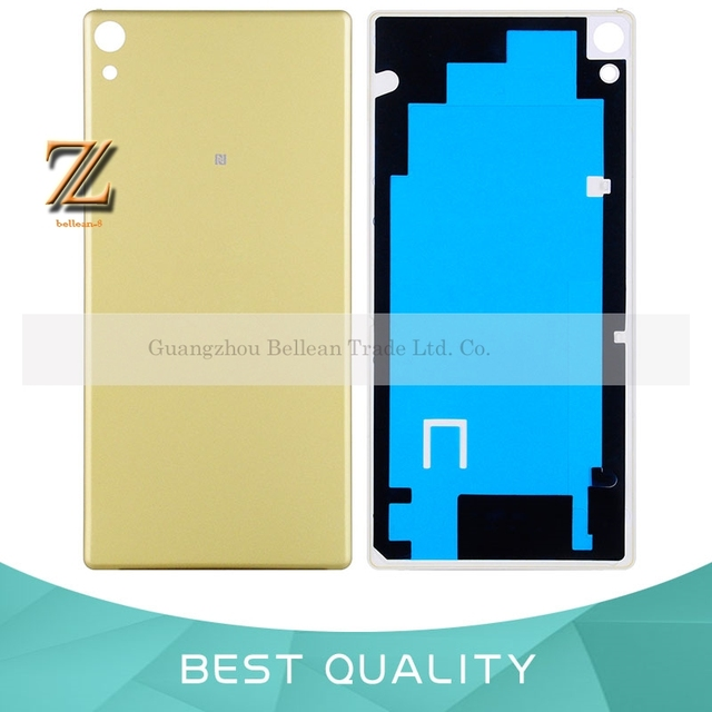 factory authentic 35c11 5f579 US $4.4 |1pcs For Sony Xperia XA Ultra C6 F3215 F3216 F3212 Battery Back  Cover Rear Door Housing Plastic Case Free Russian-in Mobile Phone Housings  ...