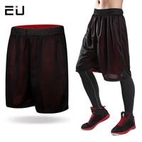 2015 New Fashion Double Side Basketball Trunks Elastic Waist Sport Shorts Casual Beach Shorts Summer Trousers