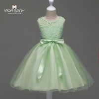 MUABABY 3 9T Flower Girls Party Dress Kids Summer Sleeveless Princess Sundress Children Girl Pageant Wedding