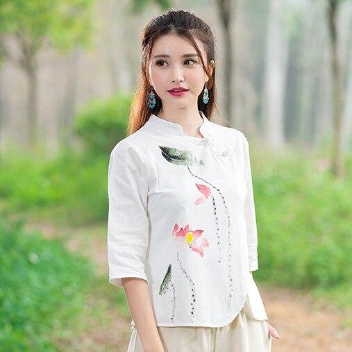 Free Chinese Blouse Pattern Blouse No Bra