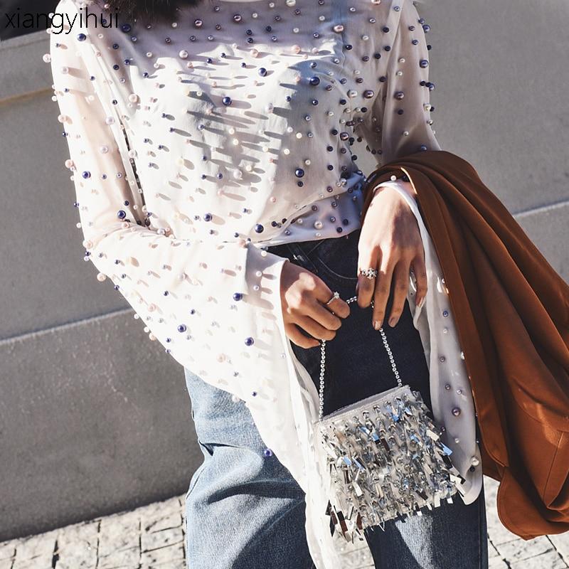 صيف ربيع الموضة روك الشرير بيرل - ملابس نسائية
