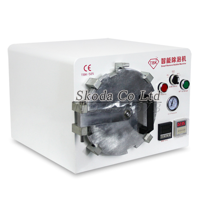 New TBK Debubble Machine Vacuum pump in one machine for LCD Touch Screen Glass Repair Debubble Bubble Remover 110V/220V