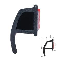HAWDA 4 метра P типа 3 м двери автомобиля резиновое уплотнение звукоизоляция, двери автомобиля уплотнительные прокладки уплотнитель кромка отделка шумоизоляция