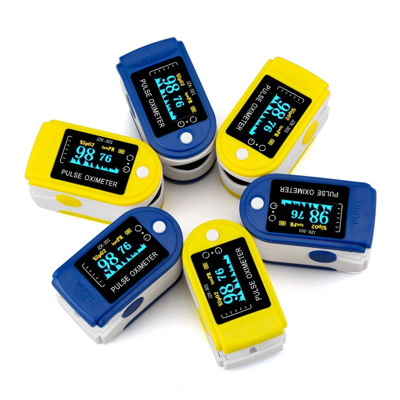 ZOSS Blue OLED Display Fingertip Oximeter Pulse Oximetry Instrument Monitoring Heart Rate Blood Glucose SpO2 Sphygmomanometer oled pulse finger fingertip oximeter blood spo2 pr heart rate monitor