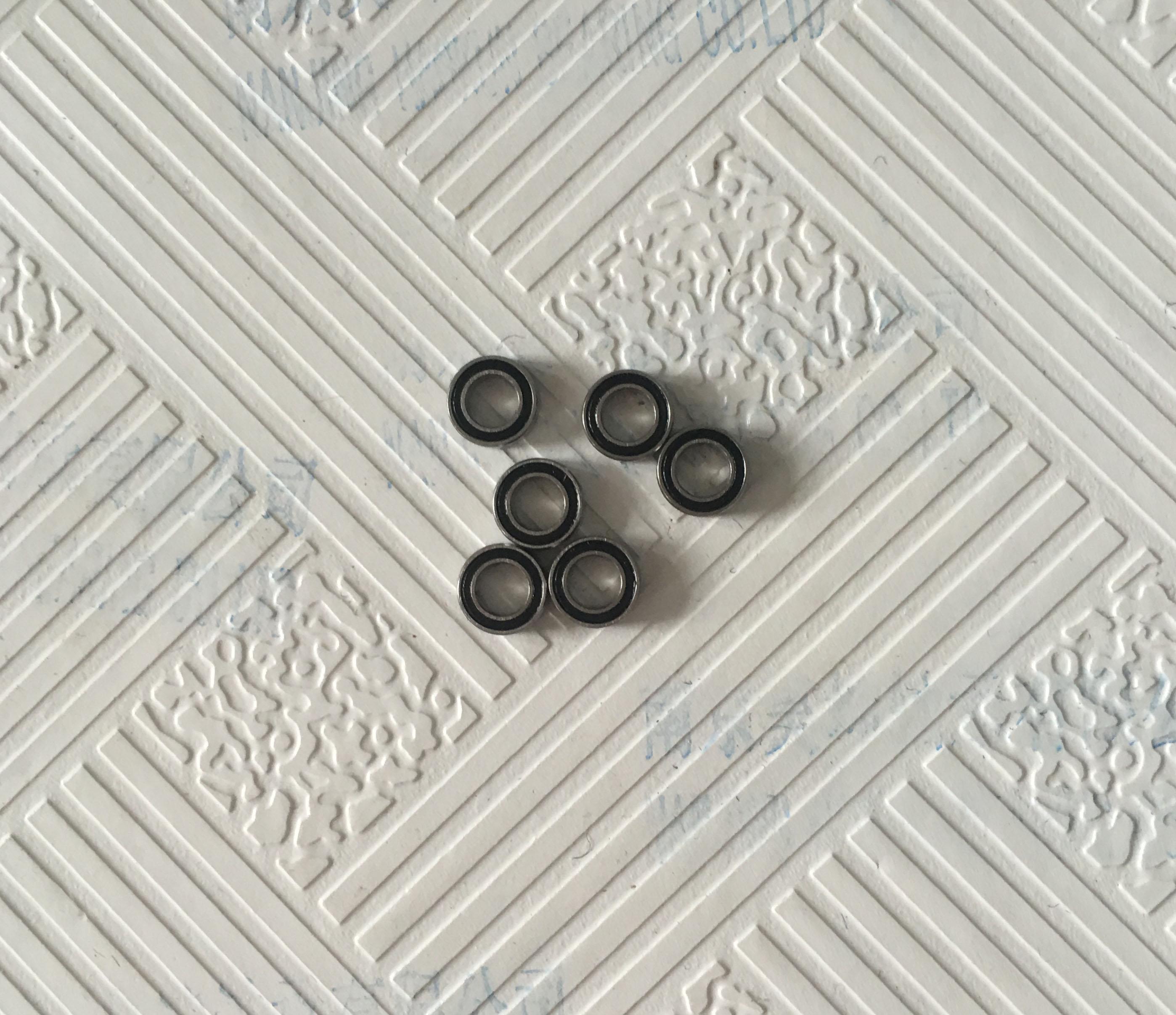 Free shipping 605-2RS 605 hybrid ceramic deep groove ball bearing 5x14x5mm 605 full si3n4 ceramic deep groove ball bearing 5x14x5mm