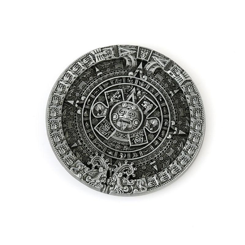 Yeni dizayn Maya Style Kəmər Buckle Markası Kişi Aksesuarları - İncəsənət, sənətkarlıq və tikiş - Fotoqrafiya 1