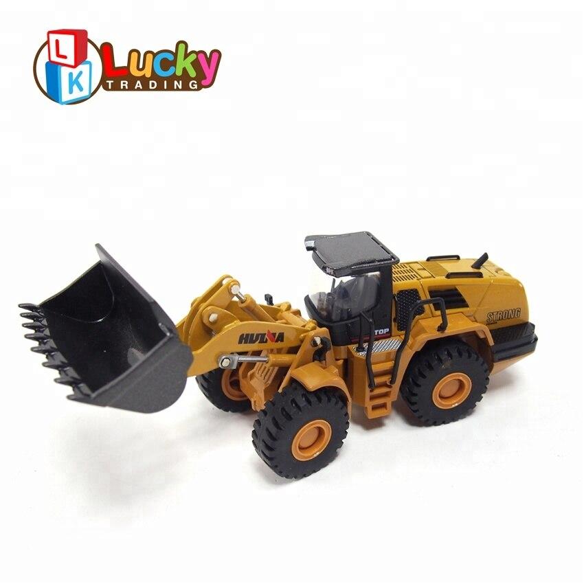 Offre spéciale 1:50 alliage voiture moulé sous pression modèle mini Bulldozer jouet garçons filles belle pelle électrique alliage de haute qualité