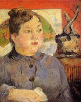 High quality Oil painting Canvas Reproductions Madame Alexandre Kohler (1887) by Paul Gauguin hand painted