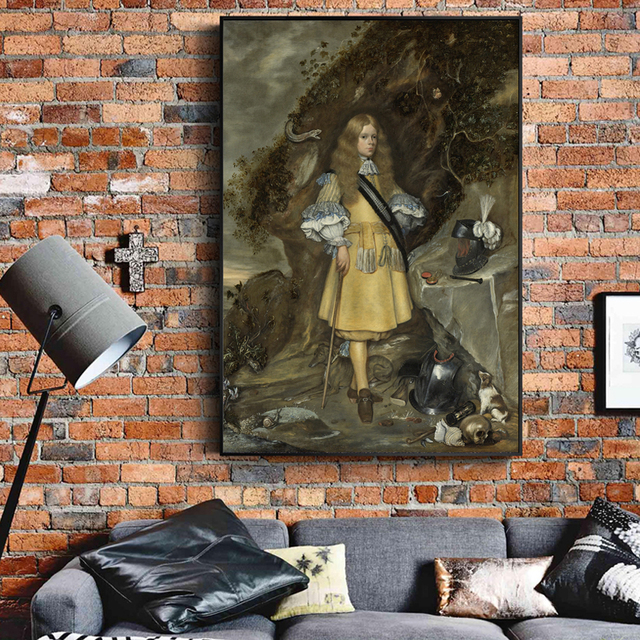 Gerard Ter Borch Portrait Paintings On The Wall Dutch Gold Age Art Canvas Prints Decorative Pictures For Living Room