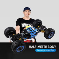 Remote Control Car 1:10 Scale Double Sided 2.4GHz RC Car One Key Transformation All terrain Vehicle Varanid Climbing Car Toy