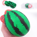 New hot sell 11.5CM kawaii jumbo watermelon  slow rising Squishy charm squeeze toy