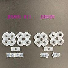 Bộ 50 Cho JDS 001 JDS 011 JDS 030 040 055 Cao Su Silicone Nút Liên Hệ Dẫn Điện Miếng Lót Bộ Cho PS4 Bộ Điều Khiển