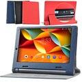 Высокое Качество Личи Кожаный Чехол Чехол Для Lenovo Yoga Tab 3 Yt3 850F 850 М 850Л Планшетный Дела Для Yt3-850F Yt3-850M Yt3-850L Случае