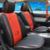 Cubierta de asiento para Renault Scenic coche fundas para asientos de coche asientos de protección negro pu de cuero cubierta de asiento de coche accesorios cojines