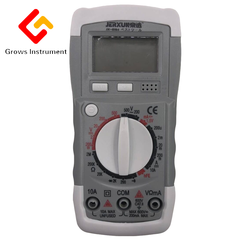 Digital multimeter pen high precision digital electrical current voltage meter electronic measuring instrument pen tool aircraft electrical and electronic systems