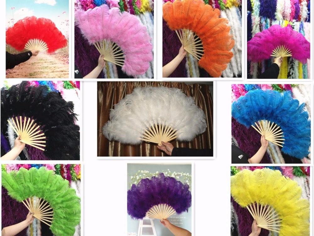 11 kleuren hoge kwaliteit struisvogelveren fan Halloween decoratie - Kunsten, ambachten en naaien