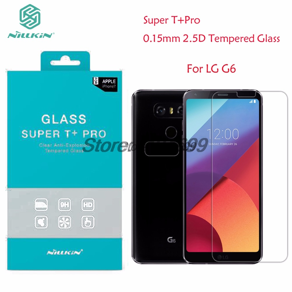 Hot Sale Sfor Lg G6 Tempered Glass Nillkin Amazing Hh Pro Anti Nature Tpu Case Explosion Screen Protector For With Original Packaging