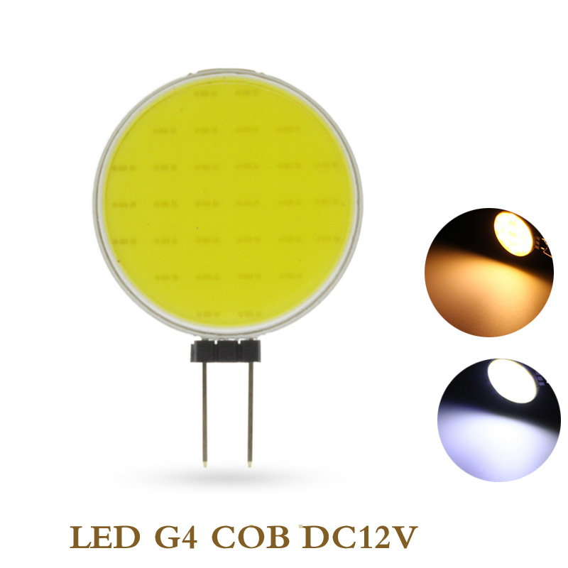 5X COB Led G4 DC12V round Pin Round shape Flat G4 LED COB 12V Decorative lights Indoor light LED COB G4 DC12V Disc shape 7W лампочка camelion g4 2 5w 12v g4 4500k 200 lm led2 5 jc sl 845 g4 12302