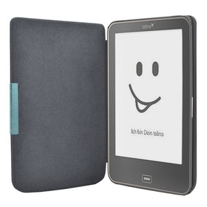 e-book Reader Cover For Tolino vision 1/2/3/4 e book reader 6 inch PU Leather case Free shipping(China)