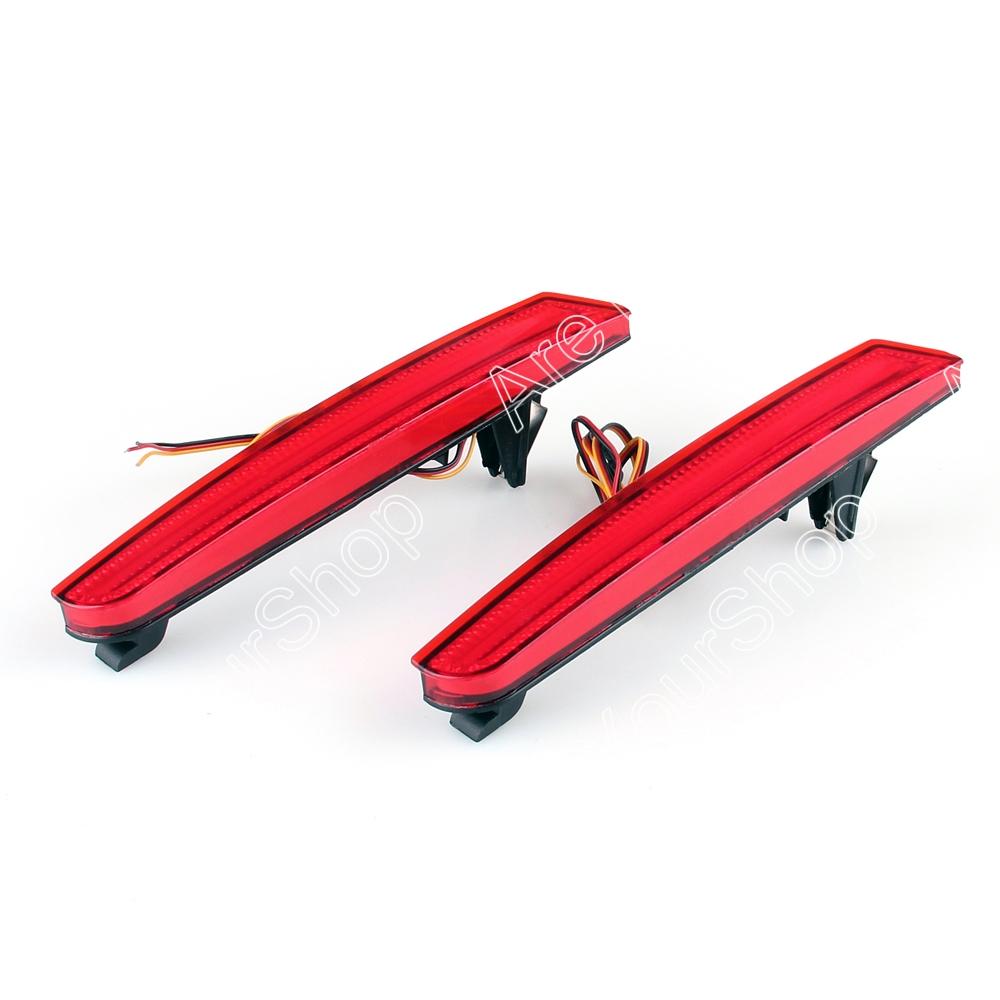 Logo honda rouge - Vente Pour Honda Odyssey 2009 2010 Voiture Led Pare Chocs Arri Re R Flecteurs Lumi Re De