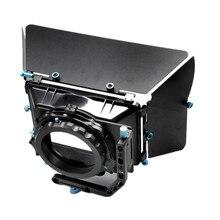 Новый Профессиональный DSLR Матовая коробка Зонт ведро + фильтр используется в сочетании with15MM система стержень шина для Камера видеокамера