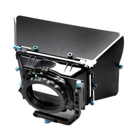 New Professional DSLR Matte Box Sunshade bucket + Filter used in conjunction with15MM rail Rod system For Camera Camcorder