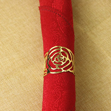 20PCS metal napkin ring Chinese style home accessories tableware supplies