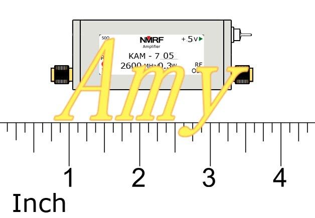 Усилитель низкой мощности 400 2600 МГц 0,3 Вт, для графического оборудования связи