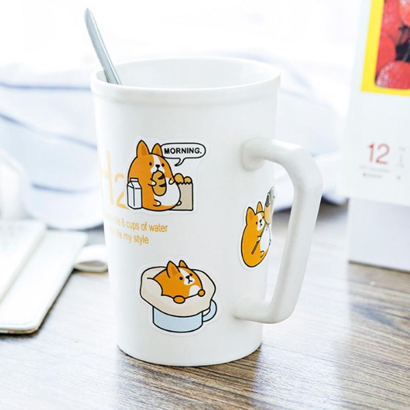 Купить с кэшбэком 45pcs/lot Animal Cartoon Mini Paper Stickers Decoration DIY diary Scrapbooking label Sticker Stationery