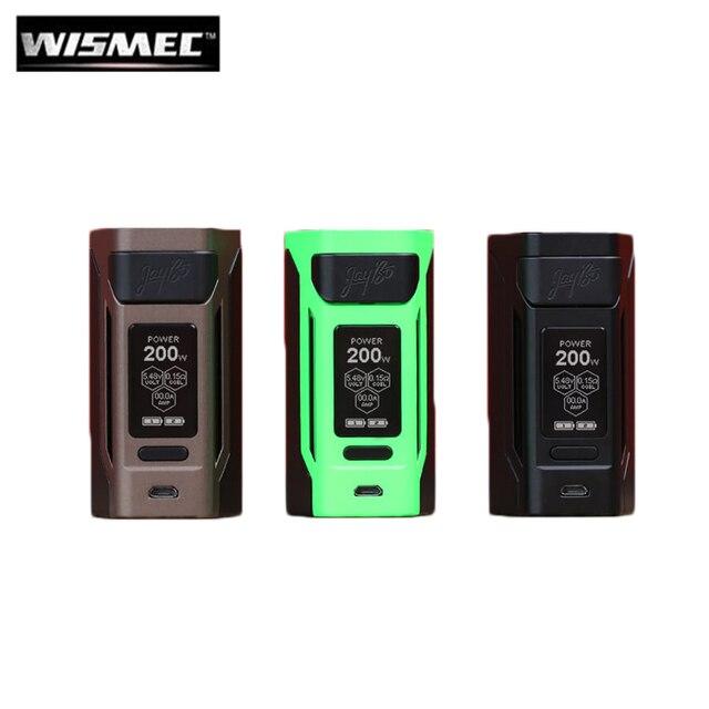Оригинальный wismec reuleaux RX2 20700 200 Вт RX2 20700 коробка MOD Vape 1,3 дюйм также можете Создано 18650 Батарея электронные сигареты
