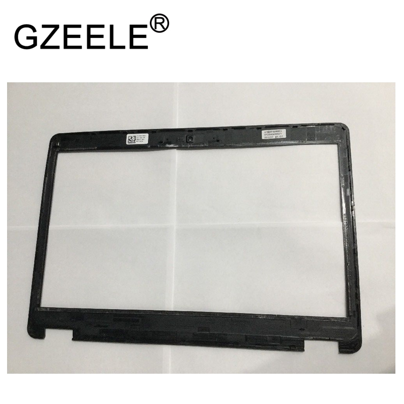 GZEELE New Front LCD Screen Frame Bezel Cover with Webcam For DELL Latitude E5450 Laptop 0CYJ3R CYJ3R